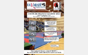 Coupe de France Taï-Jitsu 2014